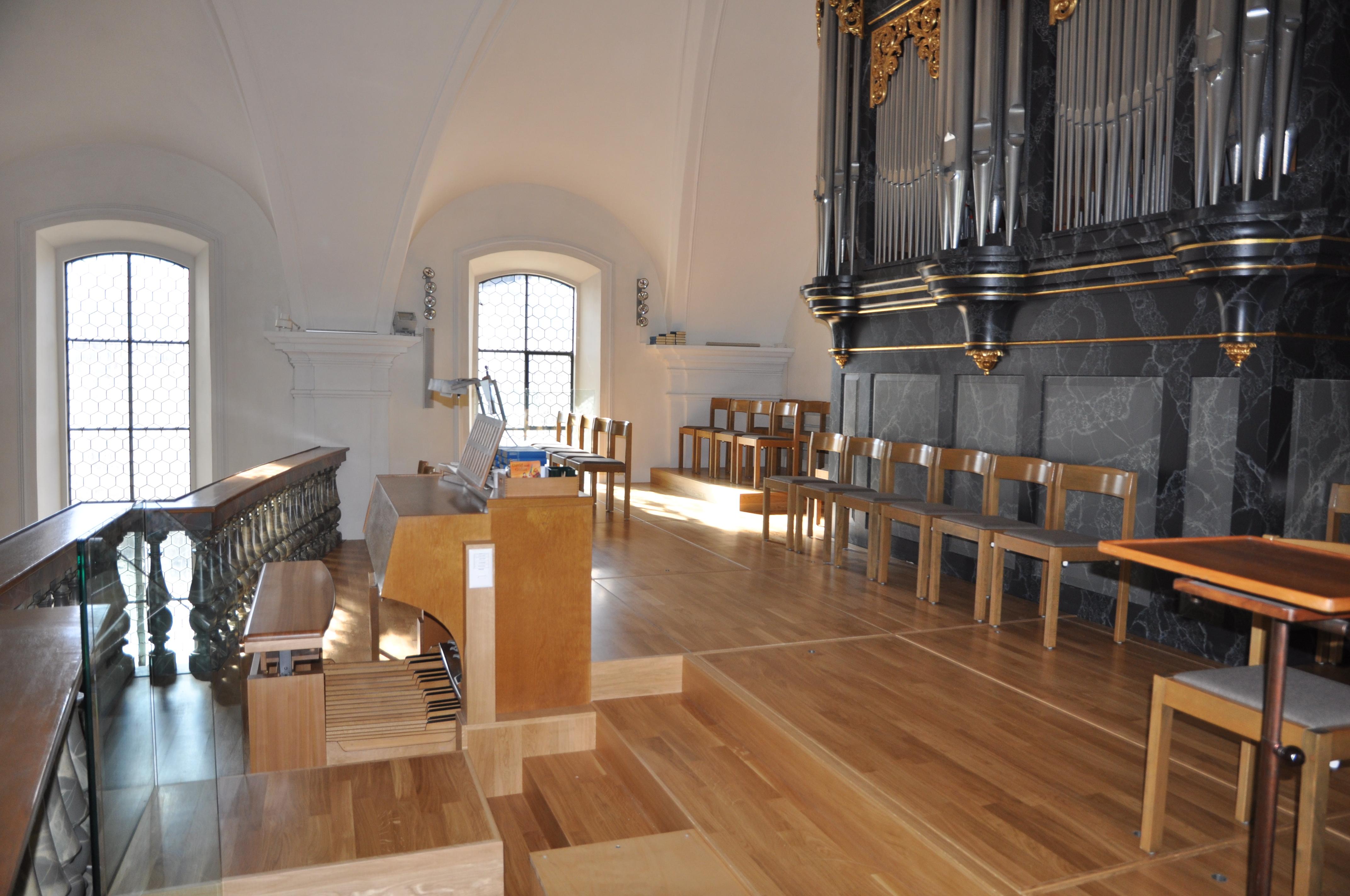 Empore Kirche Walenstadt