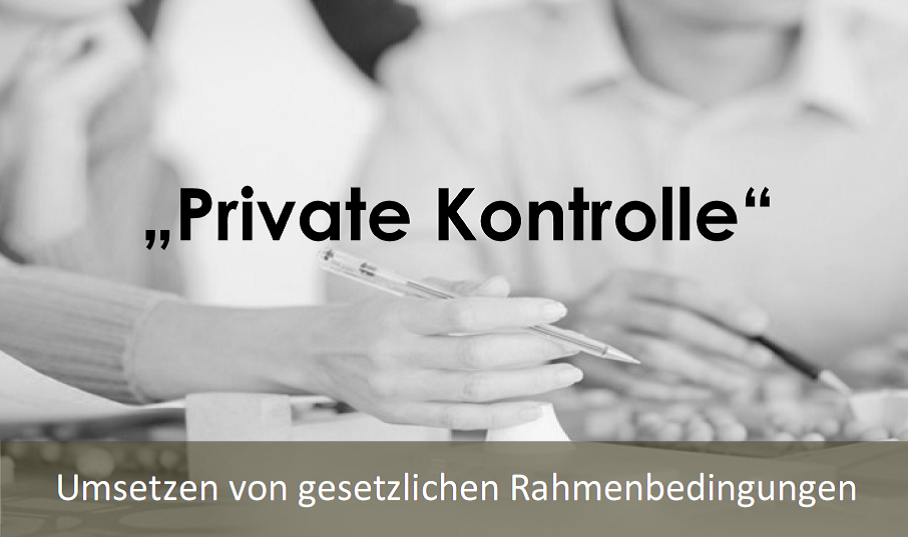 private Kontrolle